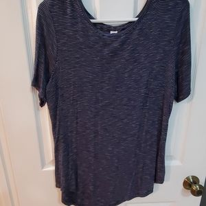 Luxe striped t-shirt